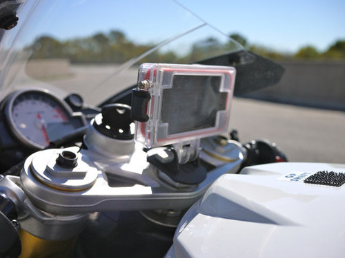 optrix on motorcycle Optrix HD Sport Mount Turns the iPhone into an Action Sports Camera