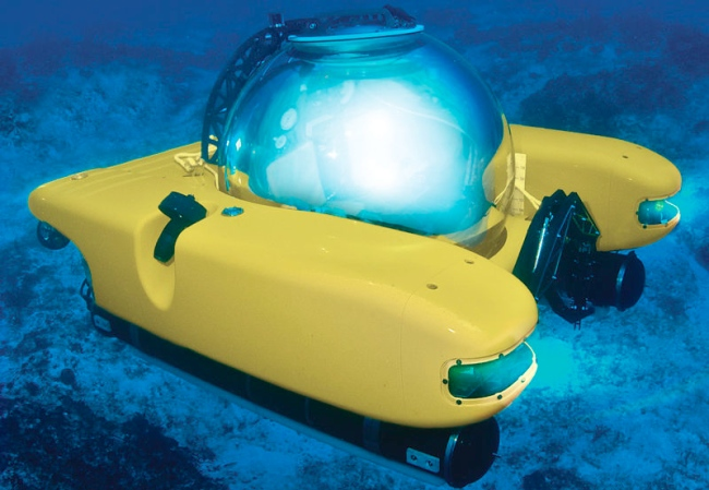 personal submarine 12 Most Outrageous Gifts for the 1%