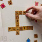 Scrabble Magnetic Fridge Tiles