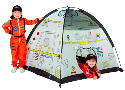 space capsule tent Space Station Tent is Out of this World