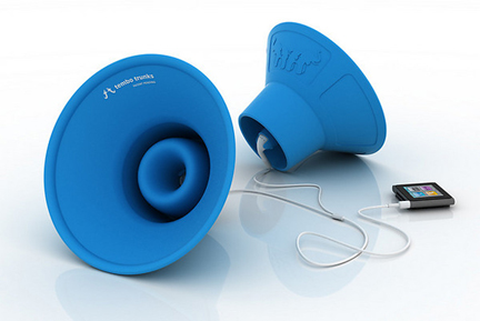 Tembo Trunks Silicone iPod Earphone Amplifiers