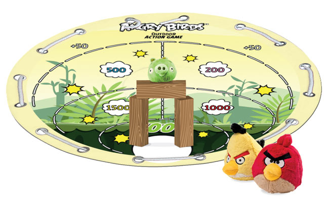 angry birds outdoor game Pinboard