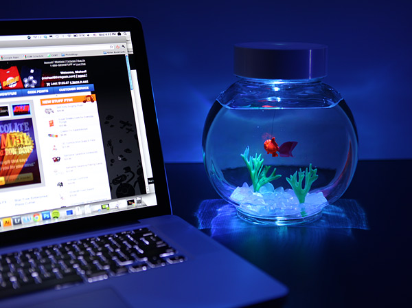 electronic goldfish in a bowl light up Electronic Goldfish in a Bowl