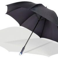 Umbrella with Flashlight Handle
