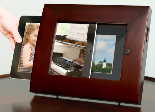 ipad2 photo frame Pinboard