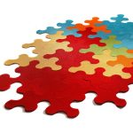 Giant Jigsaw Puzzle Rug