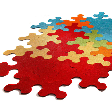 jigsaw puzzle rug Giant Jigsaw Puzzle Rug