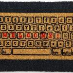 Computer Keyboard Doormat