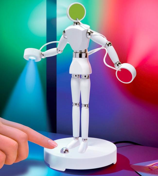 LED Figurine is a Rainbow of Light