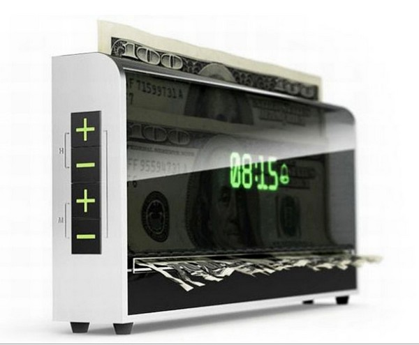 Money Shredding Alarm Clock Proves Time Really is Money