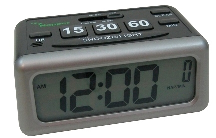 napper front Napper: The Alarm Clock Designed for Napping