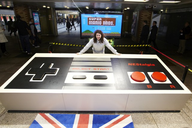 World's Largest NES Controller