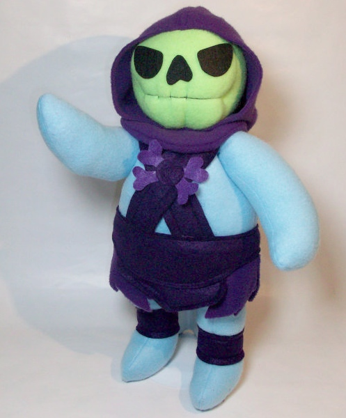 Classic 1980′s Characters Made Plush by Handmade Stuffs