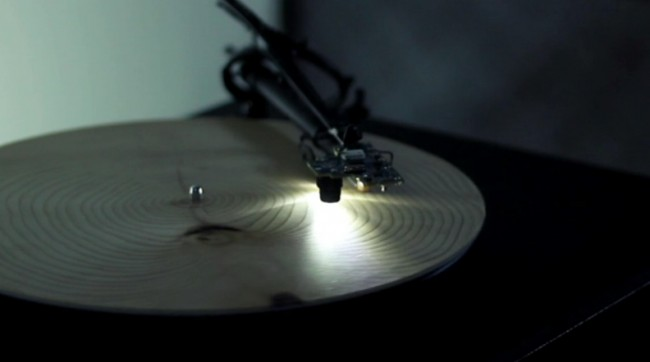 A Record Player that Plays Tree Rings