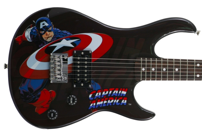Peavey Marvel Superhero Guitars