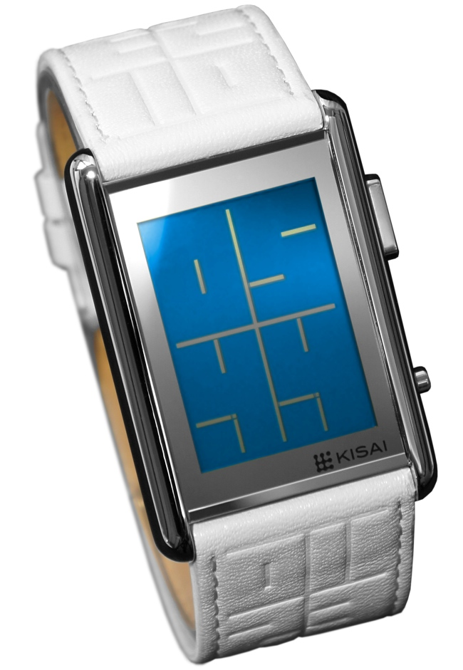 LCD Stencil Watch from Tokyoflash