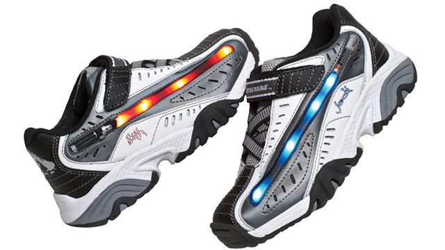 Light Up Lightsaber Sneakers