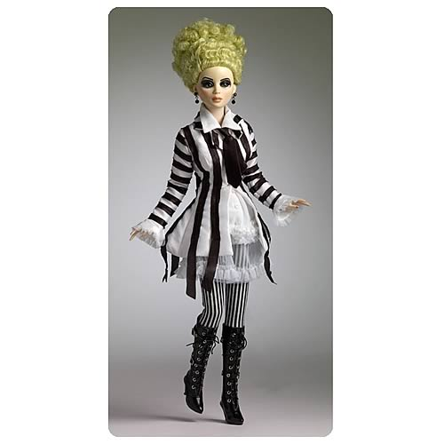 Beetlejuice as a Woman Doll