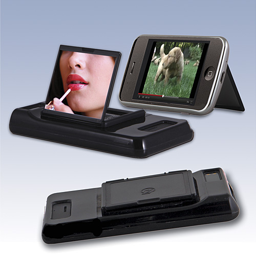 phone makeup mirror Smartphone Makeup Mirror Attachment