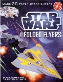 Star Wars Folded Flyers Paper Airplanes Kit