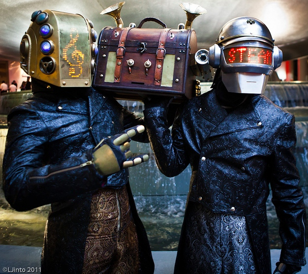 Steampunk Daft Punk Costumes