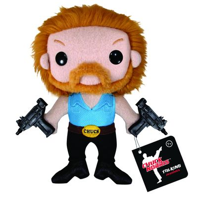 Talking 7 Inch Chuck Norris Plush