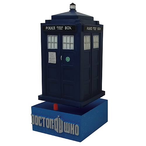 "Dr. Who Tardis Bobblehead (or Bobble ""head"")"