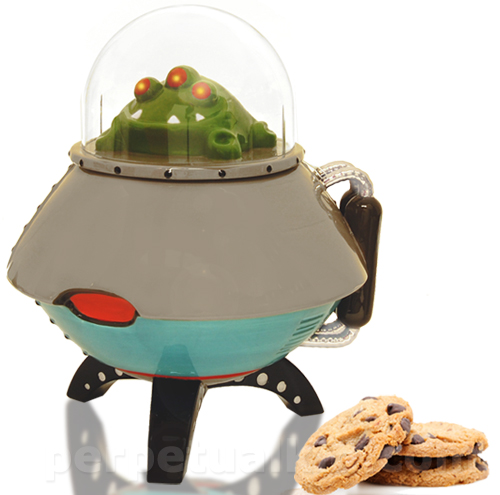 ufo cookie jar UFO Cookie Jar