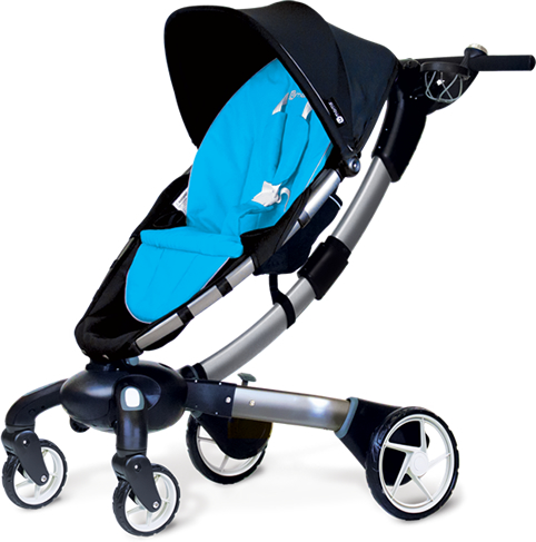 4Moms Origami Stroller Power Folds Itself, Has More Features than your Car