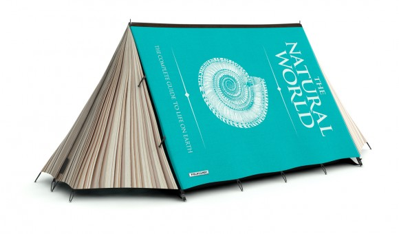 book tent Crazy Tent Designs from FieldCandy