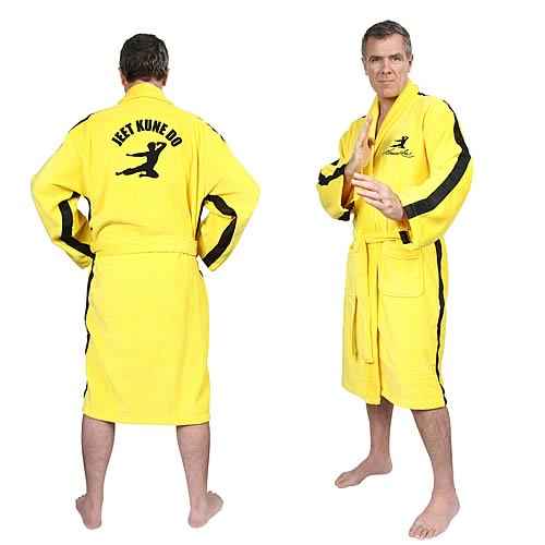 bruce lee bathrobe Pinboard