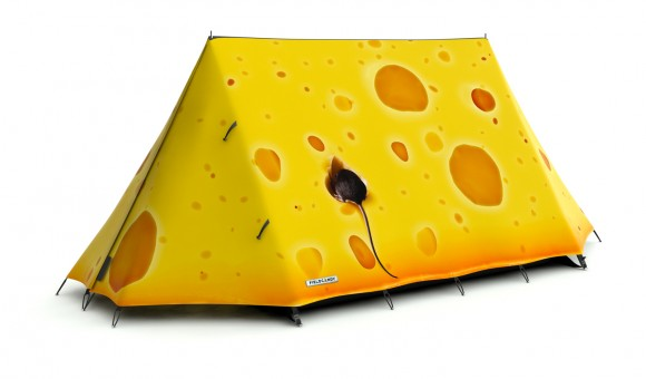 cheese tent Crazy Tent Designs from FieldCandy