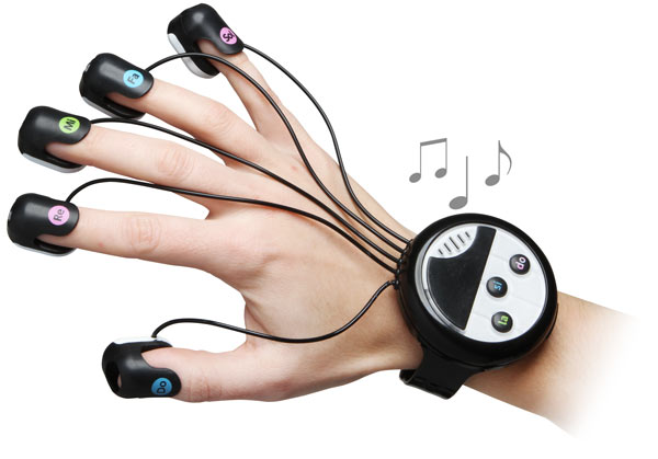 Wrist Mounted Finger Piano
