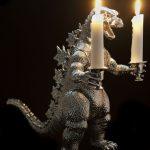 Godzilla Candlesticks