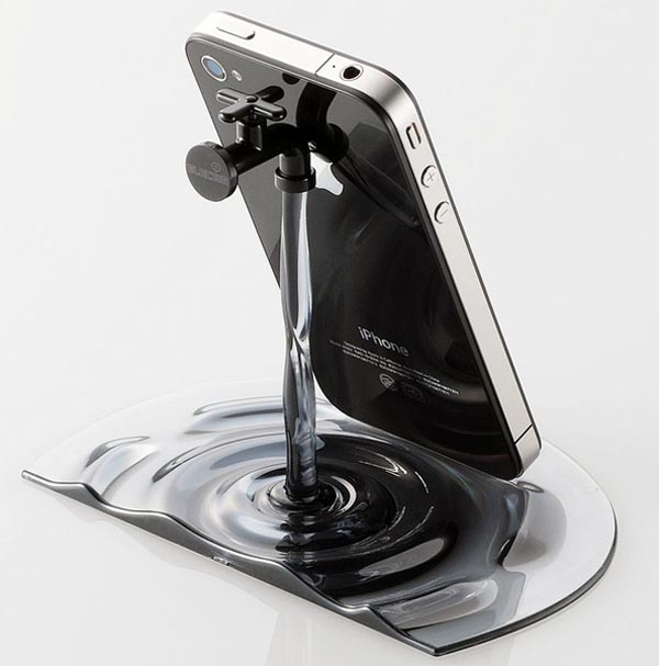 Running Water Faucet iPhone/iPad Stand