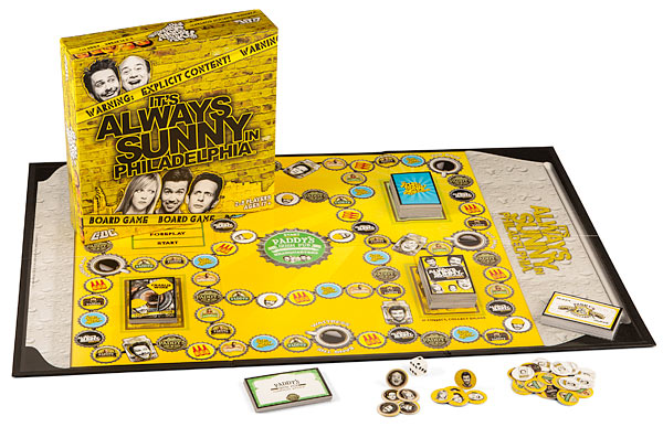its always sunny in philadelphia board game Its Always Sunny in Philadelphia Board Game