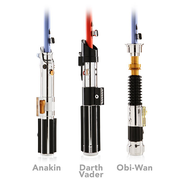 lightsaber umbrella handles Star Wars Lightsaber Umbrellas