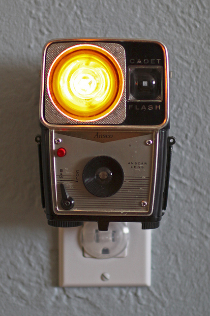 nightlight camera Vintage Camera Nightlights