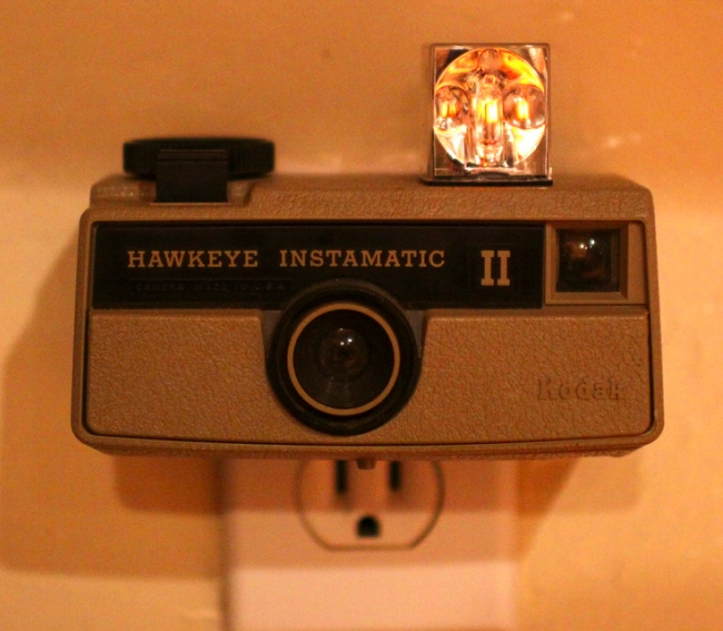 nightlite camera Vintage Camera Nightlights