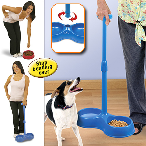 pet food handles Pet Food Bowls with Handles
