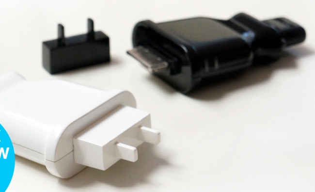 Plug Shaped iPhone Battery Backup