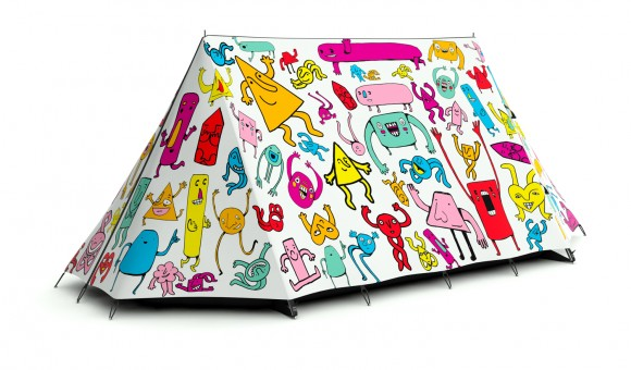 room for one more tent Crazy Tent Designs from FieldCandy