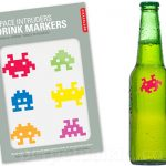 "Space ""Intruders"" (Invaders) Drink Markers"