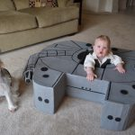 Does a 9 Month Old Need their Own Millennium Falcon? Yes.