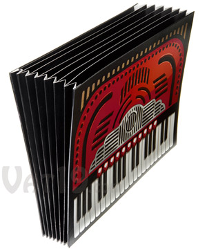 accordion file folder Pinboard