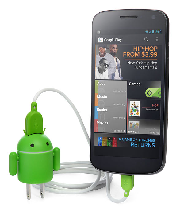 Android Robot USB Charger