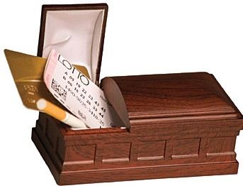 Bury the Habit with a Recordable Coffin