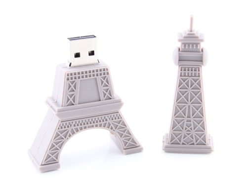 eiffel tower usb drive open Eiffel Tower USB Flash Drive