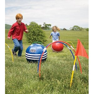 Giant Kick Croquet Set