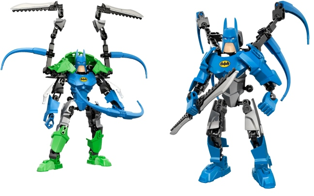 lego ultrabuild batman 2 ways Lego Ultrabuild Superheroes